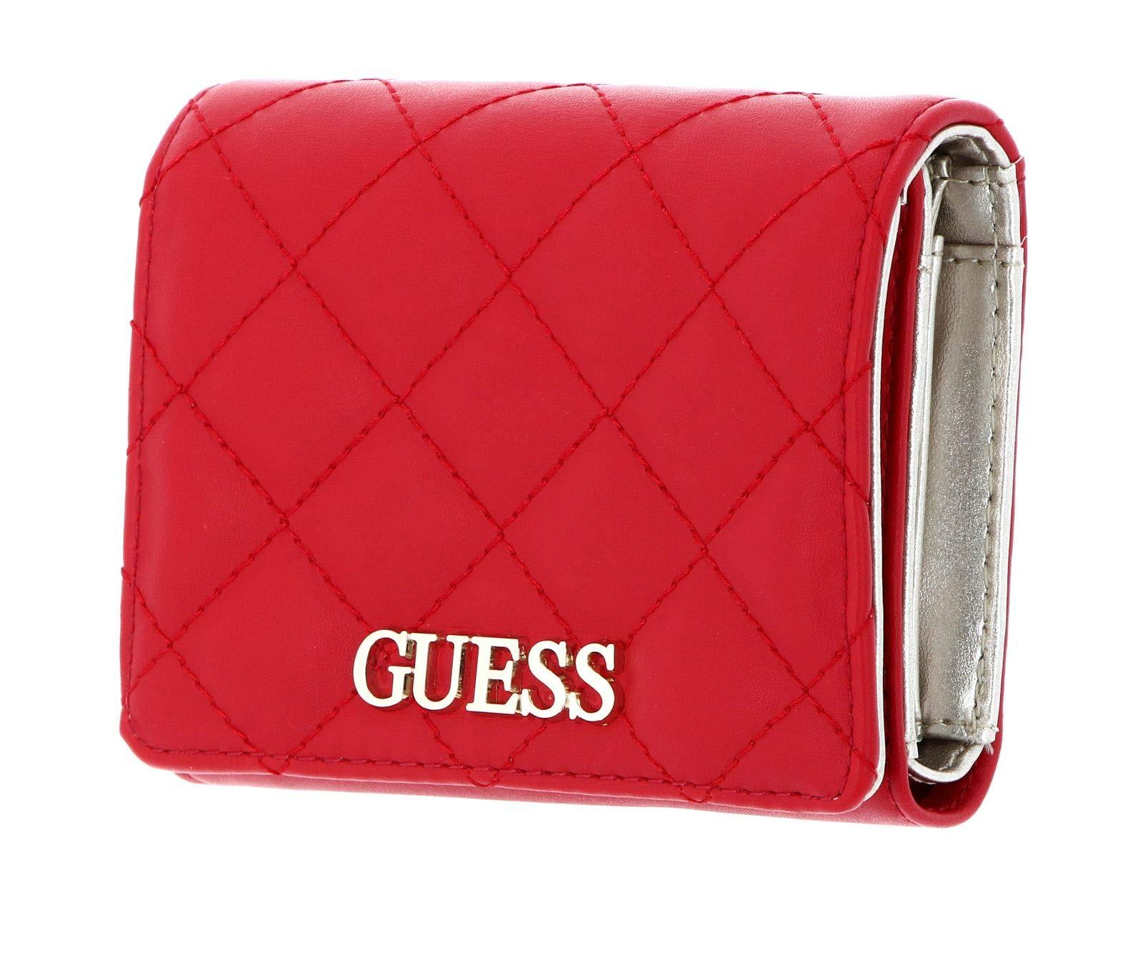 Medium GUESS Womens SWVG79-70430-RED Accessory-Travel Wallet Red