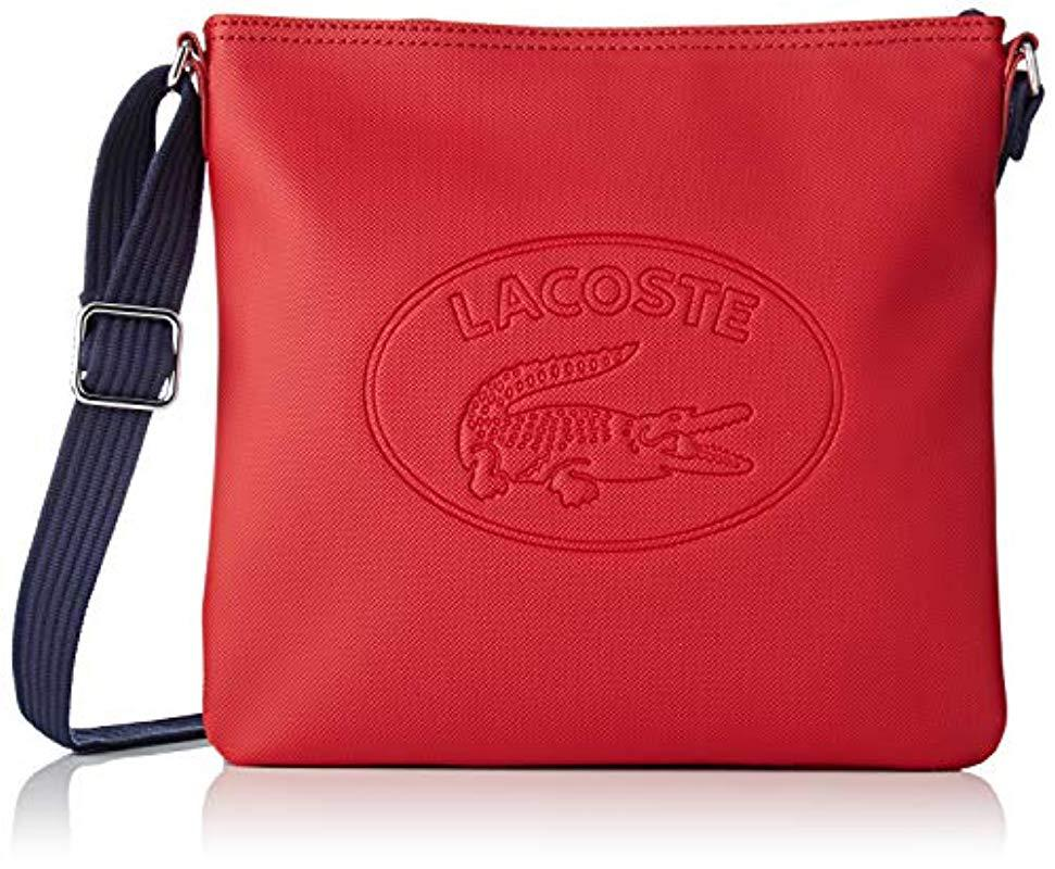 adefa1dbf242bc Lacoste Nf2420wm Cross-body Bag in Red - Save 10% - Lyst