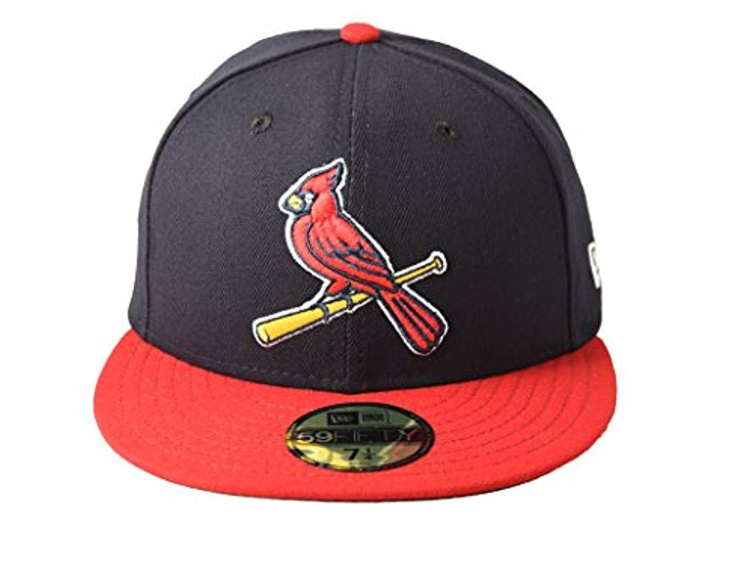 sports shoes 87f12 3733a Lyst - KTZ 59fifty St. Louis Cardinals Mlb 2017 Authentic Collection ...