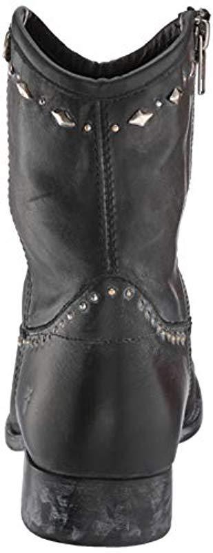 Frye Leather Melissa Button Multi Stud