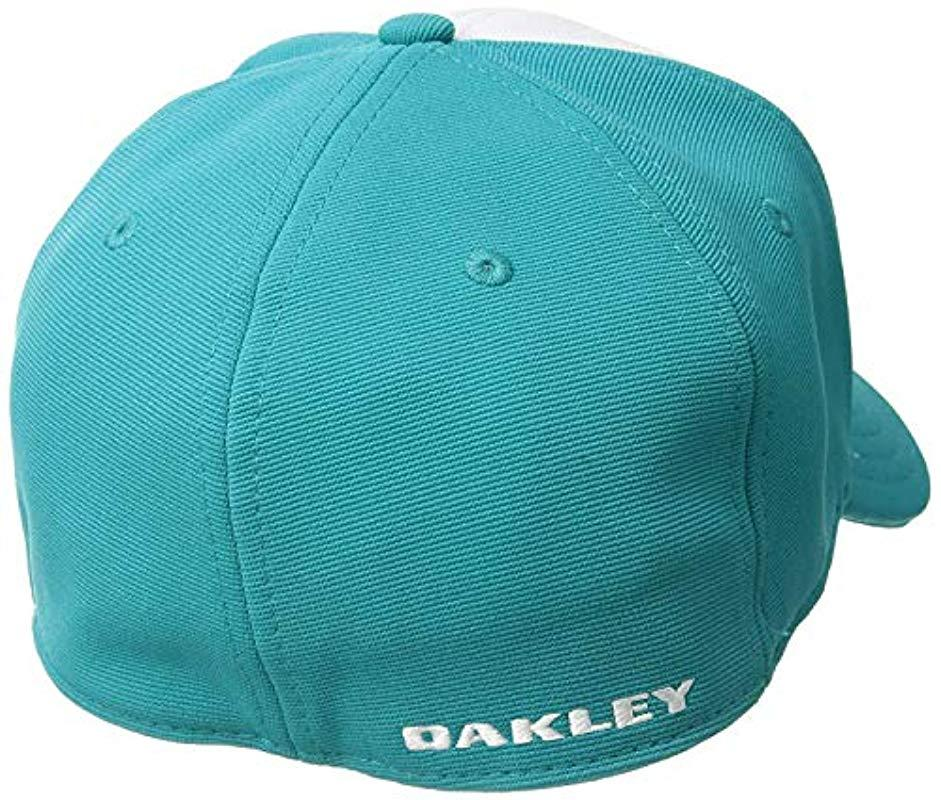 Oakley - Blue S Metal Tincan Flexfit Hat for Men - Lyst. View fullscreen 399a87fdd02b