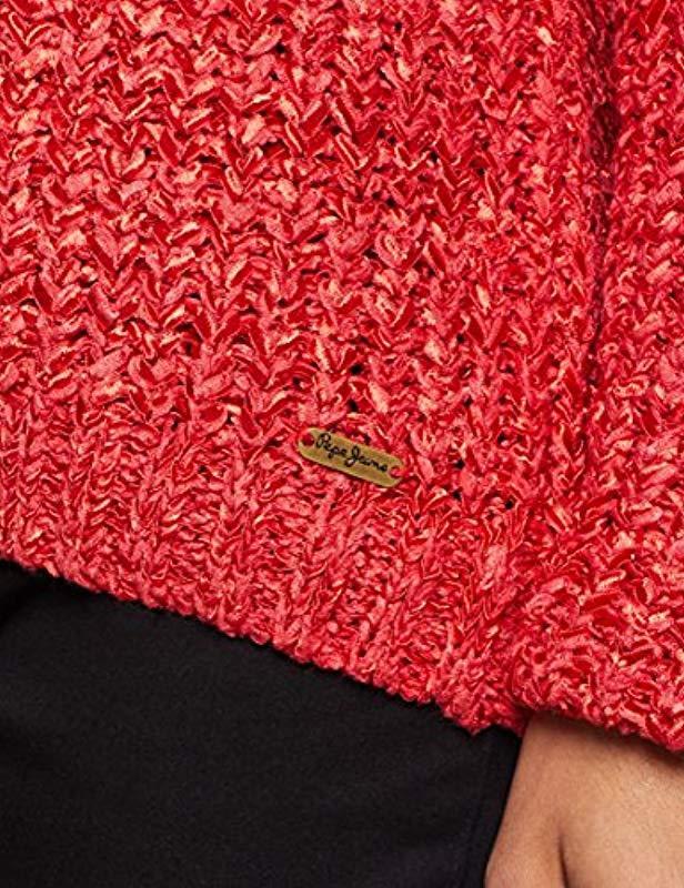 Pepe Jeans Denim Oli Pullover in Rot 4Lc8z
