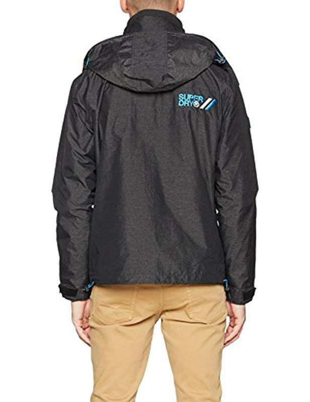 0943a66a48b265 Superdry Technical Cliff Hiker Track Jacket in Black for Men - Save 3% -  Lyst