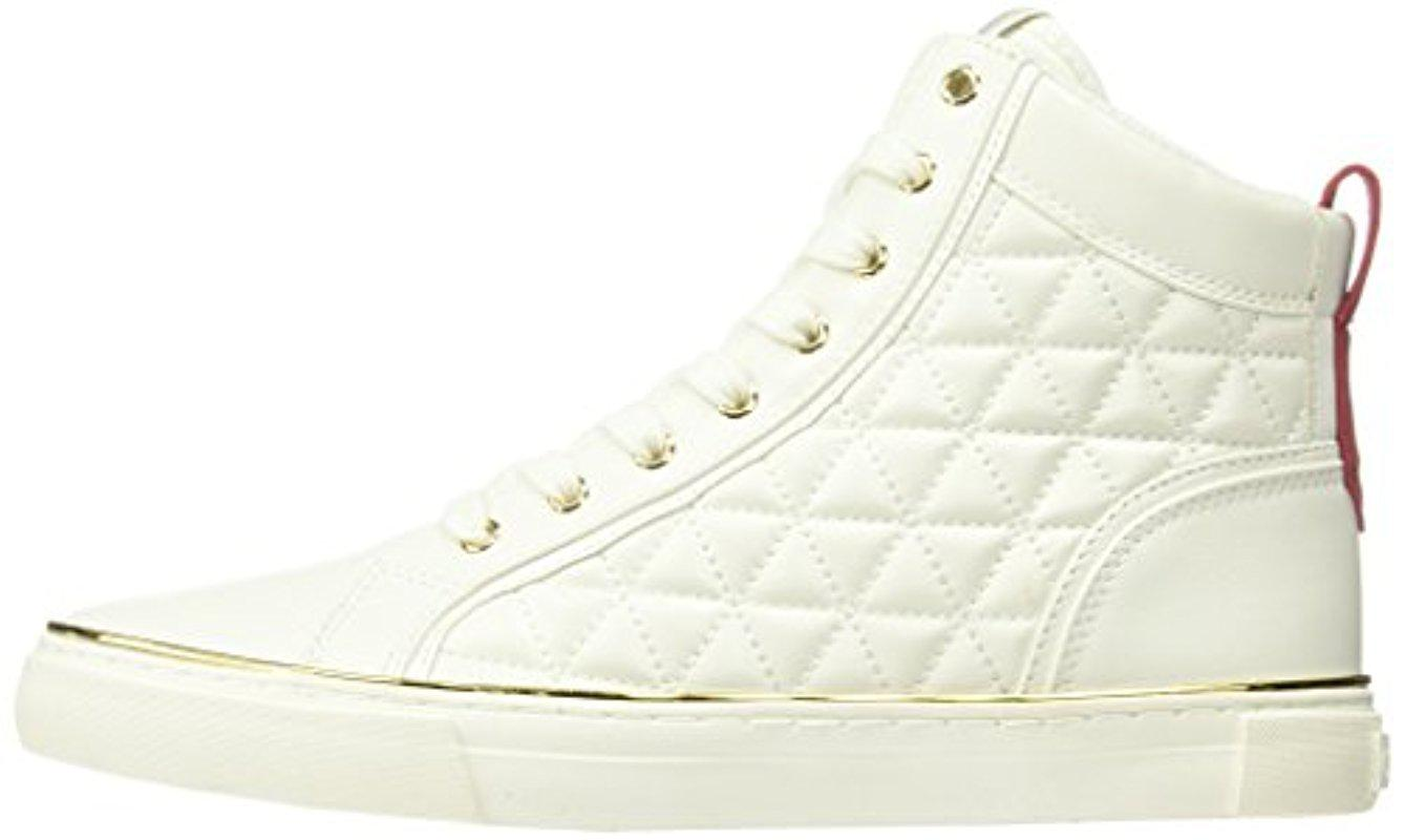 Guess Melo Sneaker in White for Men - Lyst