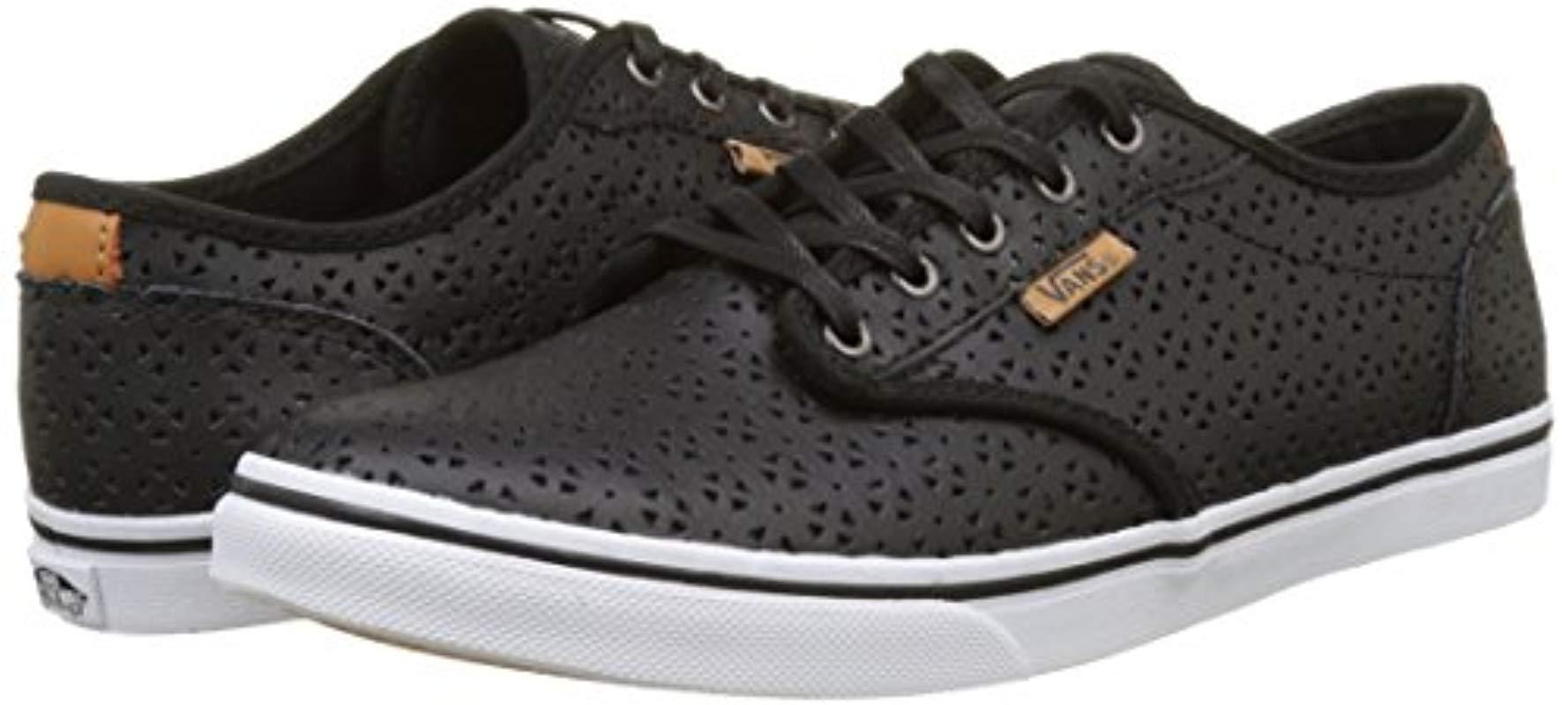 Lyst DxSneakers Vans Atwood Femme Wm Low Coloris En Basses Noir 8wv0NnOm