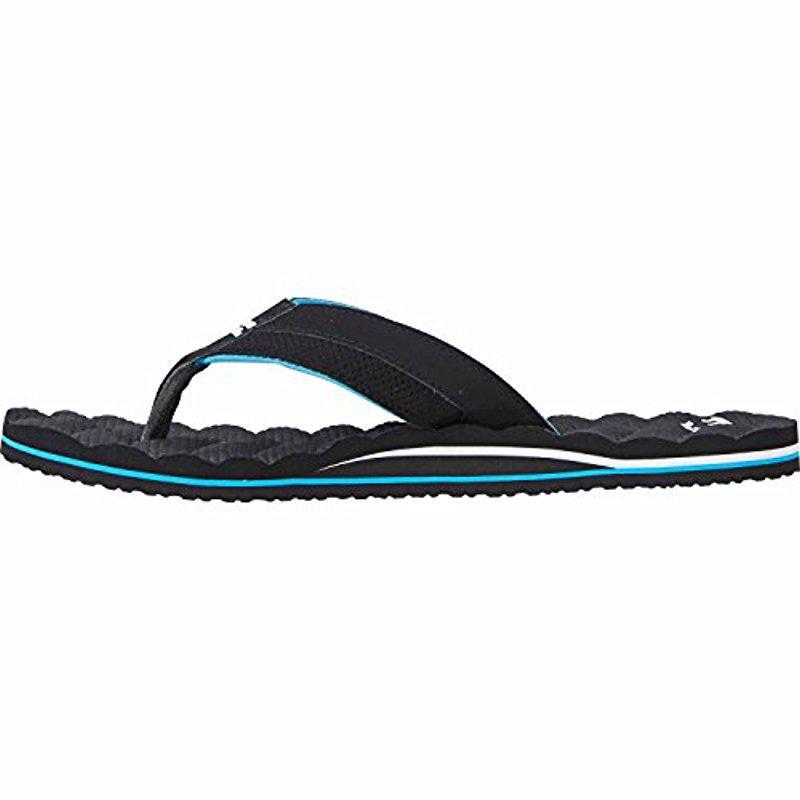 a9e667356ecc8 Billabong Black Dunes Impact Non Slip Water Resistant Sandal Flip Flop for  men