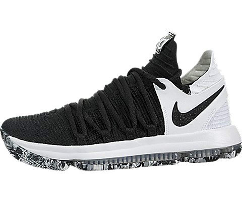 factory price 6a326 d68f2 Nike   s Zoom Kd10 Basketball Shoes in Black for Men - Lyst