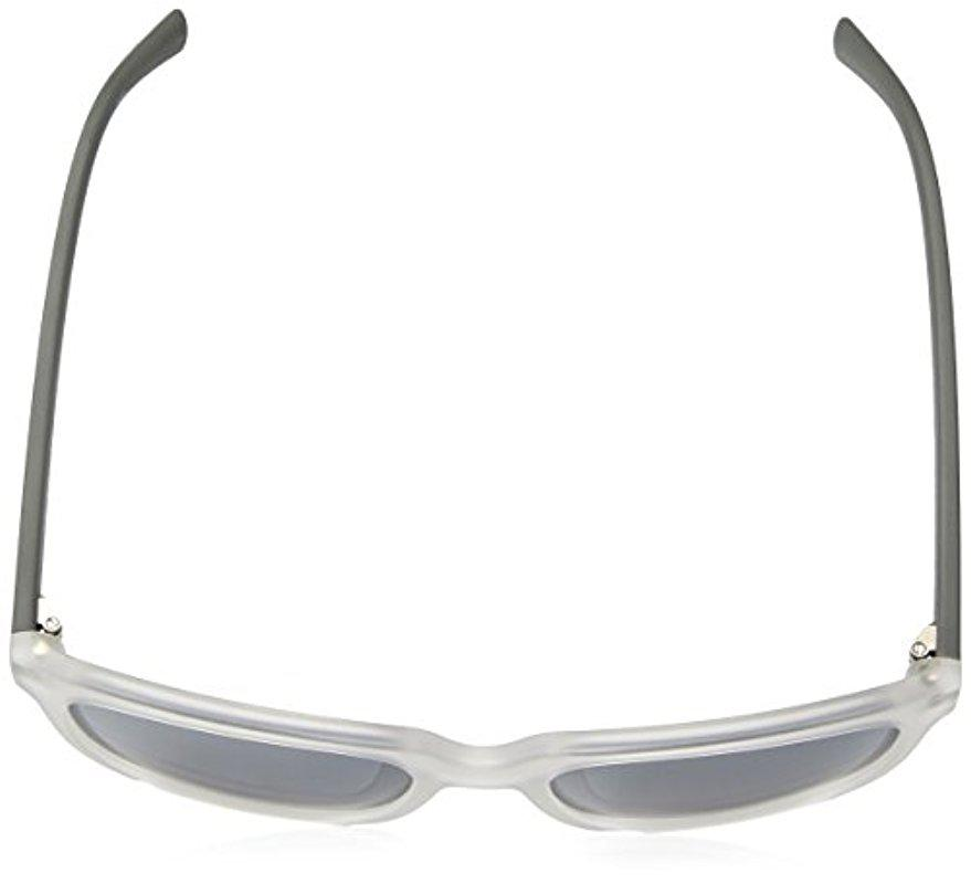 Nautica Mens N3629Sp 919 56 Sunglasses Crystal//Matte Grey
