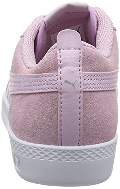 c2ce1de20218fc PUMA - Pink Smash Wns V2 Sd Low-top Sneakers - Lyst. View fullscreen