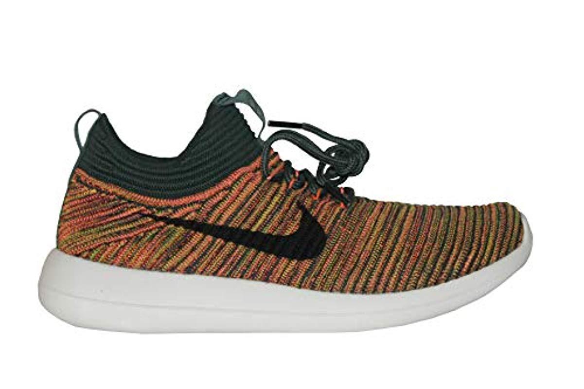 watch 56887 16eec Nike Roshe Two Flyknit V2 Fashion Sneaker Shoes in Gray - Lyst