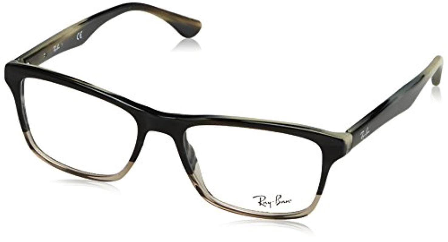 5cf584a78c Ray-Ban Rx5279 Glasses In Shiny Black Rx5279 2000 53 in Black for ...