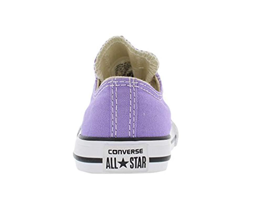 4499979bef2b Lyst - Converse Kids  Ctas Ox-k in Purple