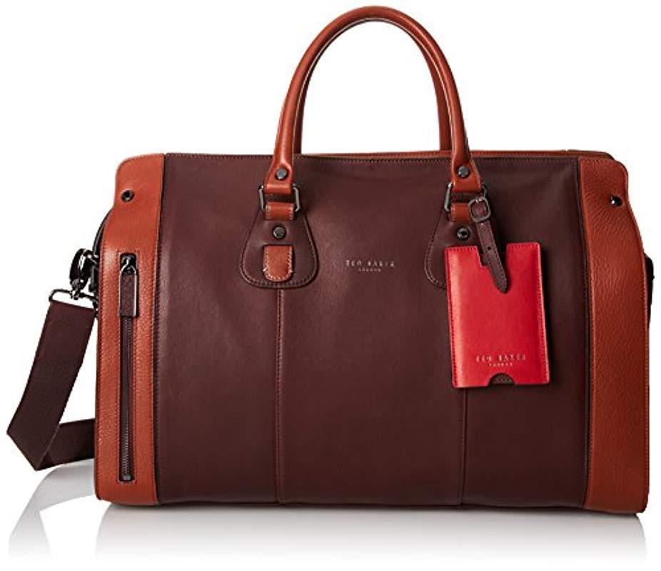 eecfd52b3dcbbb Lyst - Ted Baker Bannon Holdall Bag for Men