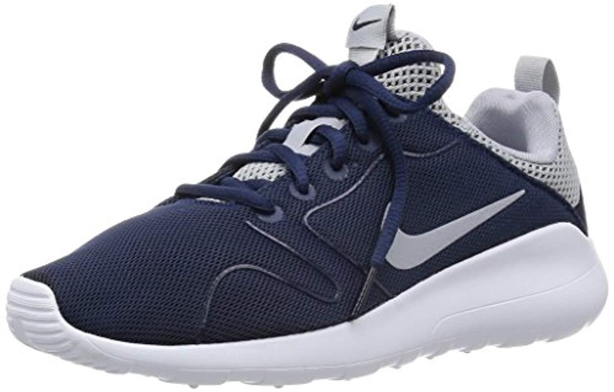 ... sweden nike s kaishi 2.0 low top sneakers in blue for men lyst bcdc1  cf271 602c506774