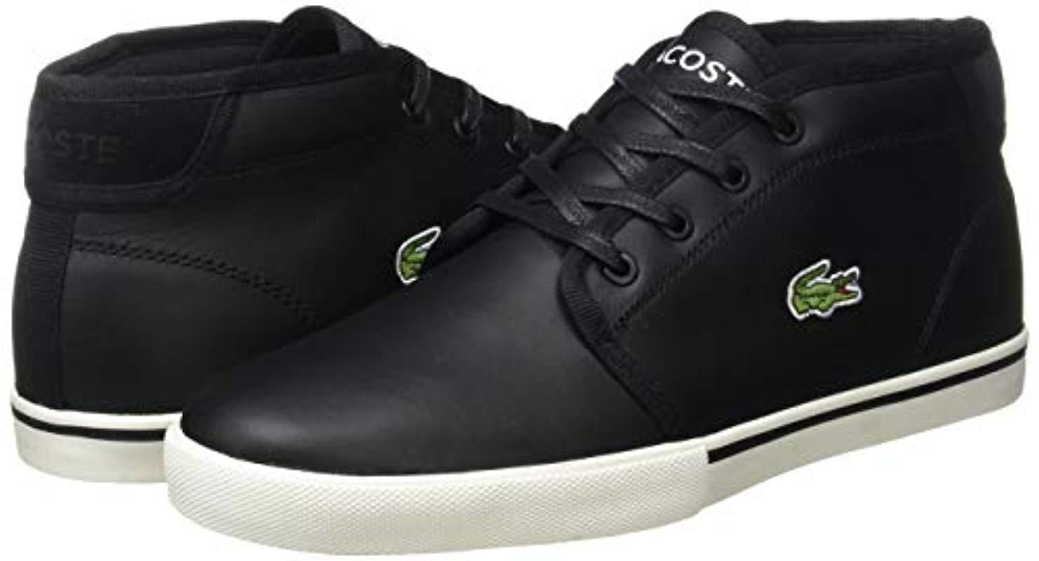 LACOSTE HOMME Ampthill Terra 319 1 AMC Durable Nappa Cuir Baskets