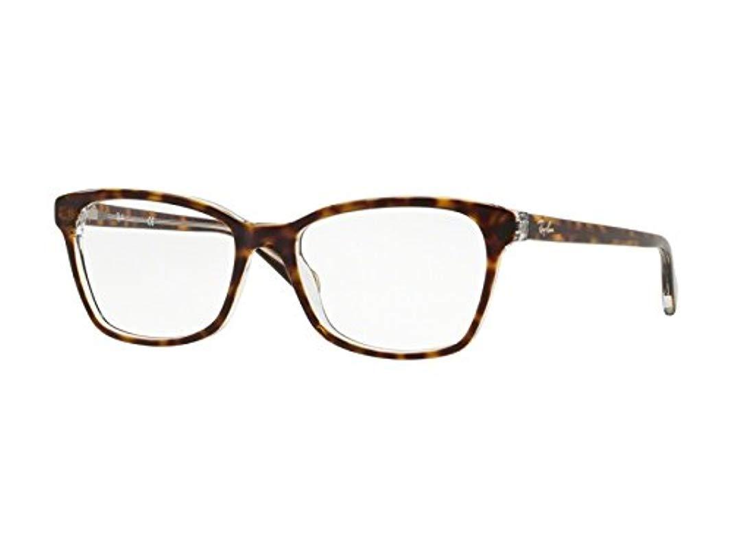 0e9f4de0795 Ray-Ban. Women s 0rx 5362 5082 54 Optical Frames ...