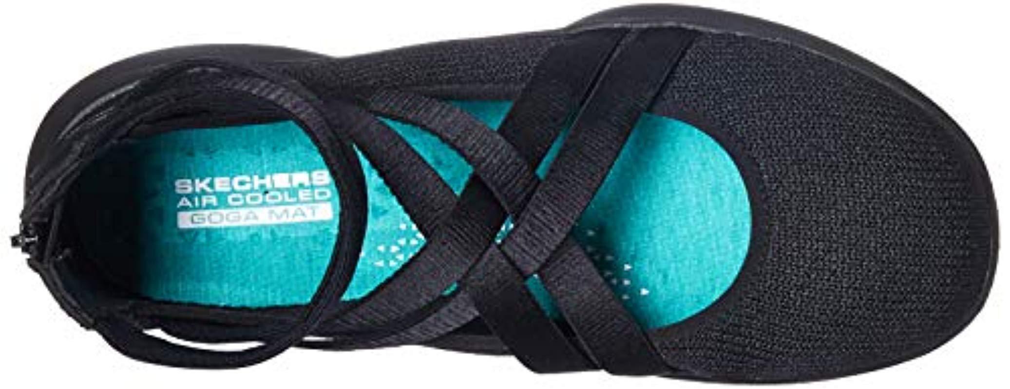 Skechers Satin Serene Dream Sneaker in