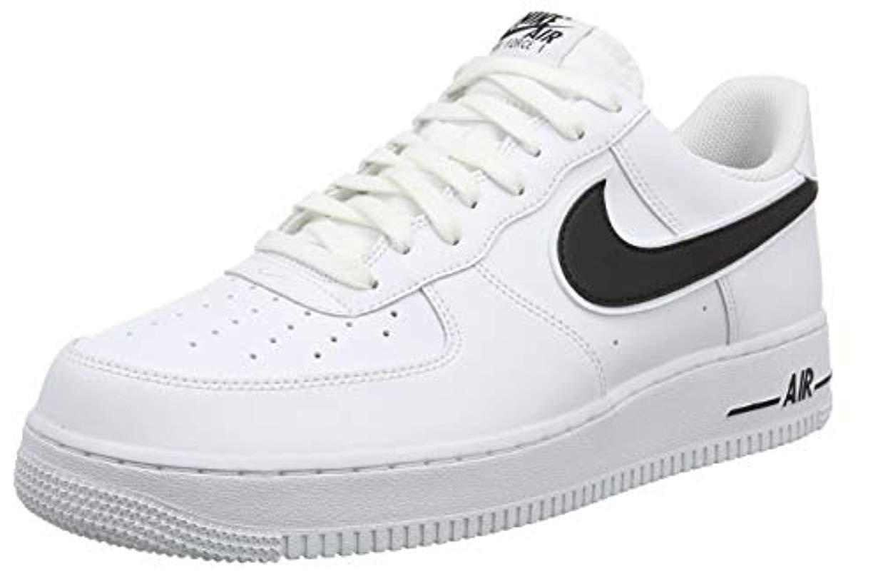 1fe383e658cae0 Nike Air Force 1  07 3 Basketball Shoes in White for Men - Save ...