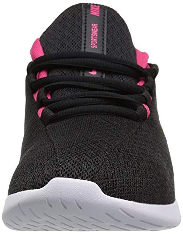 escolta Influyente simpático  Nike Unisex Adults' Viale (gs) Trainers, Black/metallic Silver/lt ...