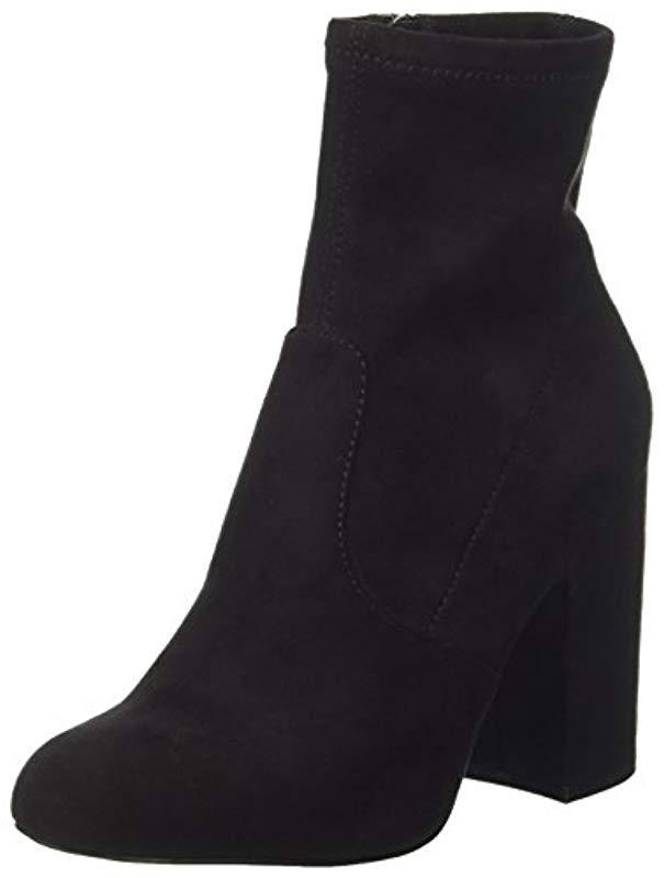 dcf5261286d0 Steve Madden   s Gaze Ankle Boots in Black - Save 55.55555555555556 ...