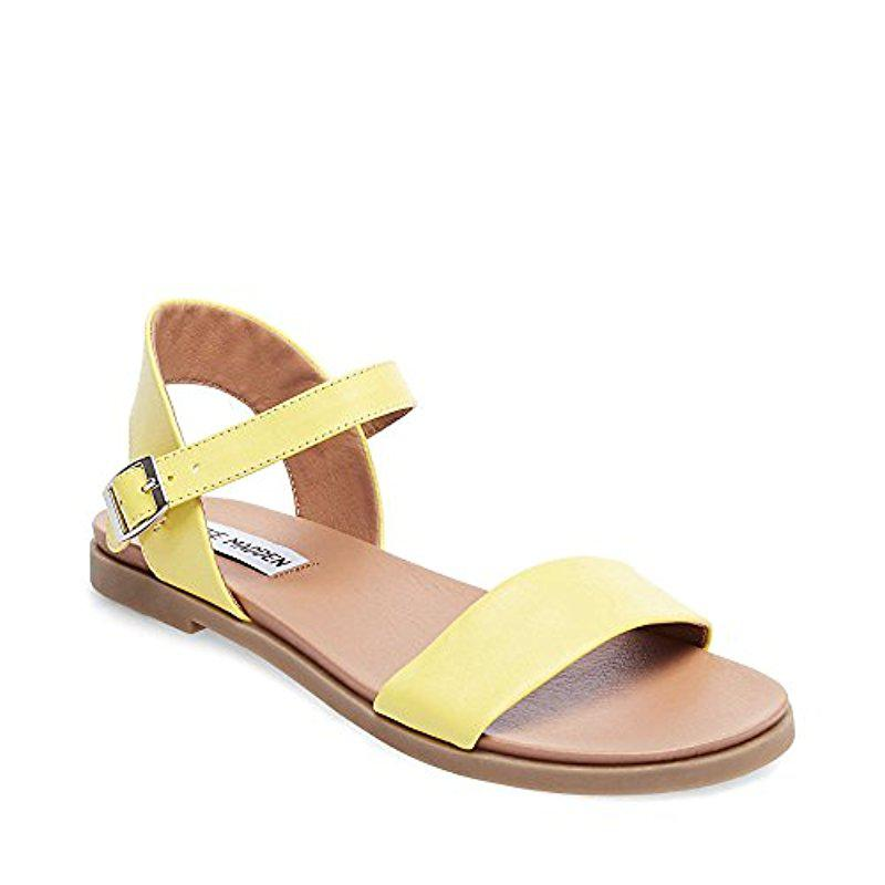 clearance 2014 Yellow 'Dina ' ankle strap sandals with mastercard online aPAmjdeDpz