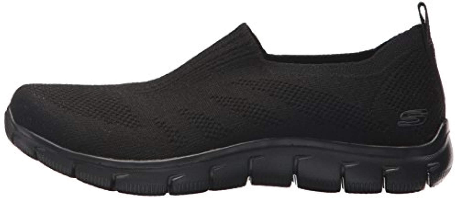 Skechers Sport Empire Clear As Day Sneaker,black,7 M Us