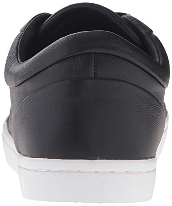 5bd96aeb29f74 Lyst - Lacoste Straightset 316 1 Cam Fashion Sneaker in Black for Men