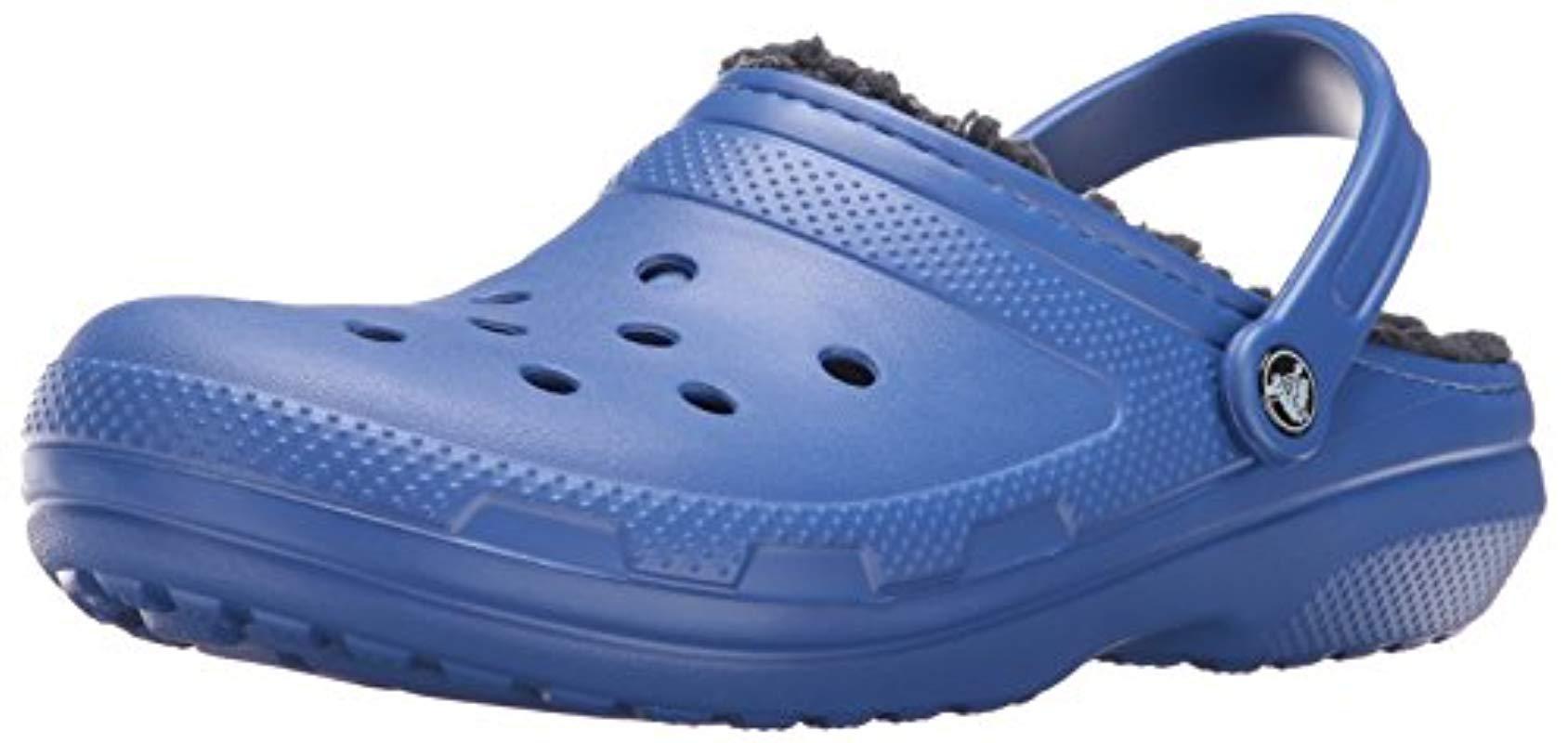 4a15d578e Lyst - Crocs™ And Classic Fuzz Lined Clog Shoe