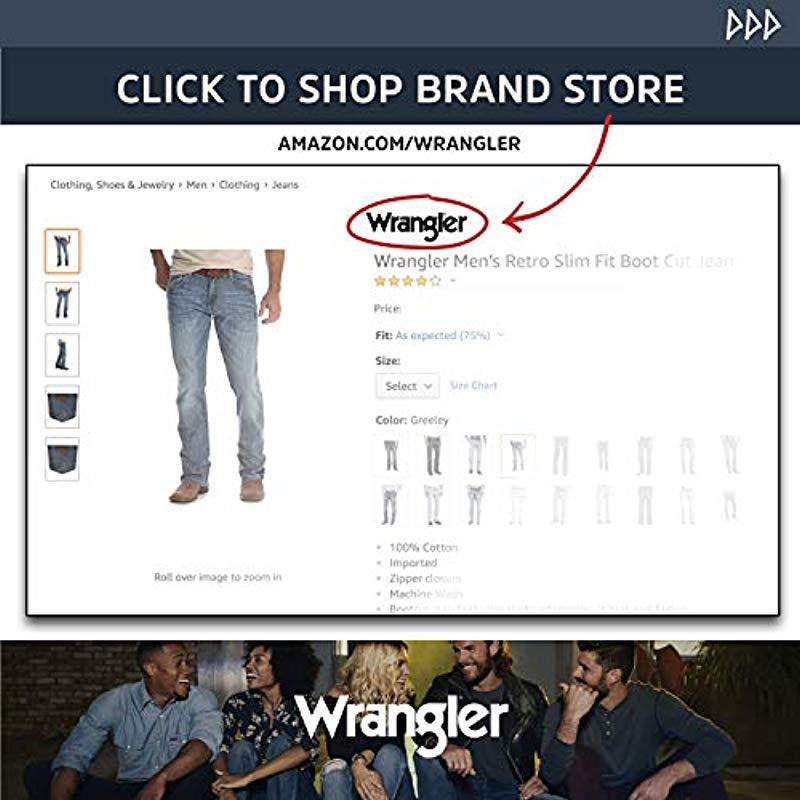 Wrangler Leather Big & Tall 20x® 01 Competition Relaxed Fit Jean in Denim (Blue) for Men