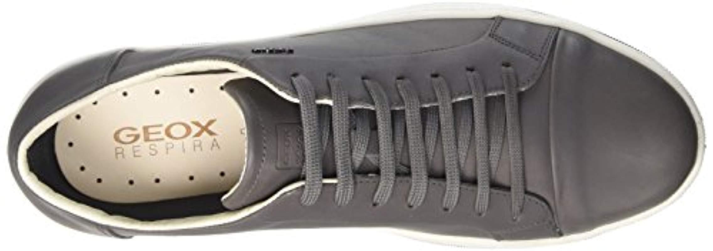 Excelente Degenerar Extranjero  Geox Uomo Ricky A Low-top Sneakers in Grey for Men - Lyst
