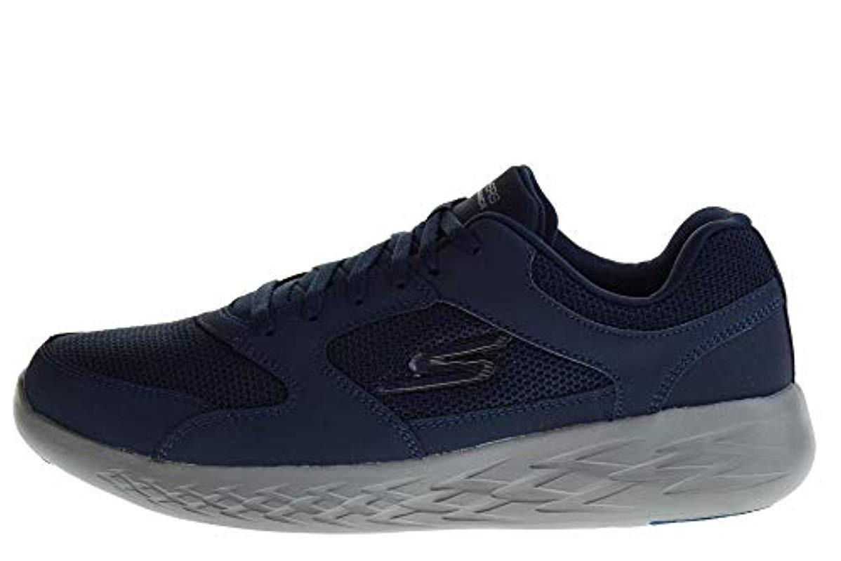Shoes Low Sneakers 55085 Blu