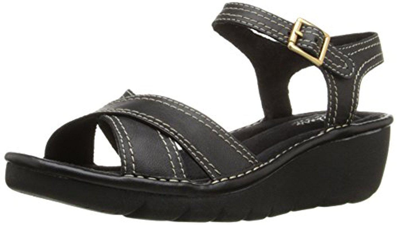 6bde8ddefbee Lyst - Skechers Cameo Faceted Dress Sandal in Black