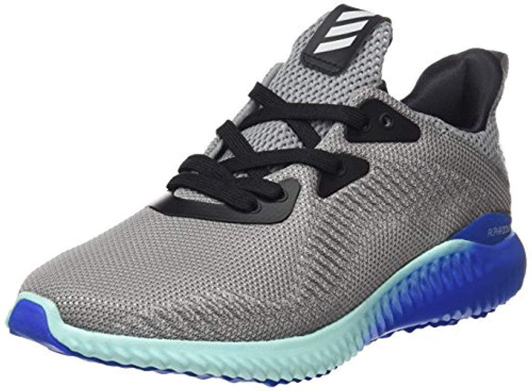 big sale b9c61 ede90 adidas. Mens Gray Alphabounce 1 M Running Shoes