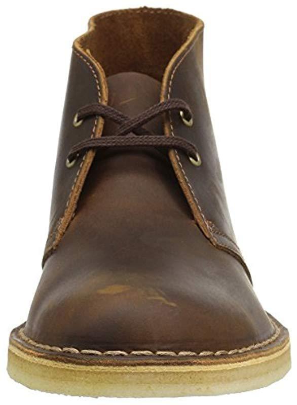 Clarks Suede Desert Boots in Brown