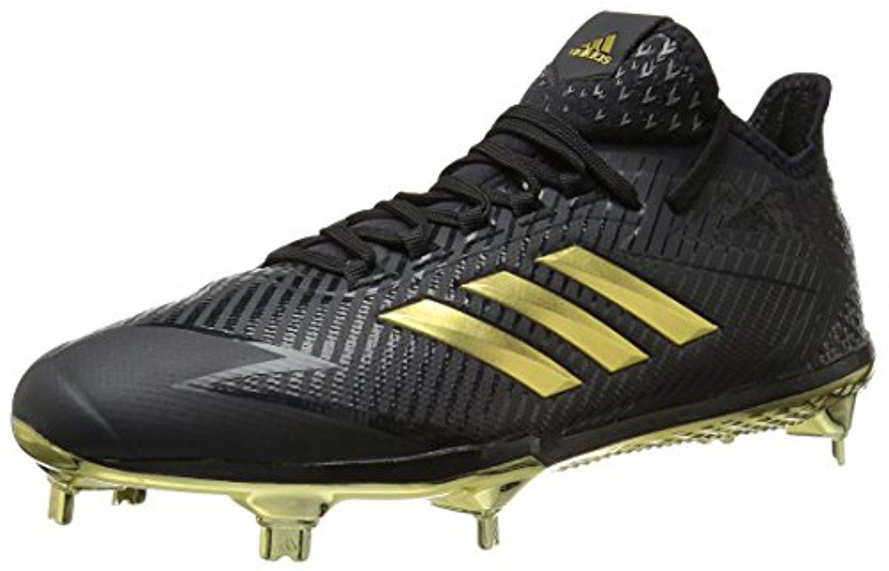 new concept 15aef 8ac0c Lyst - adidas Adizero Afterburner 4 Cleat Baseball in Black