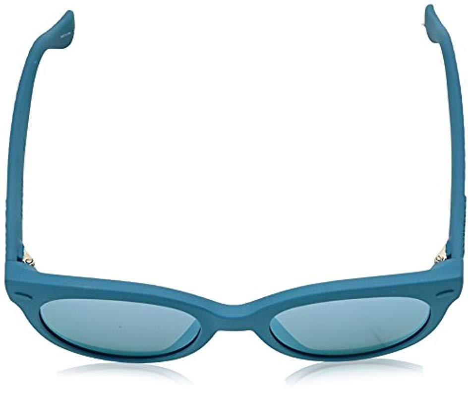 Havaianas Rubber Noronha/s Round Sunglasses in Blue