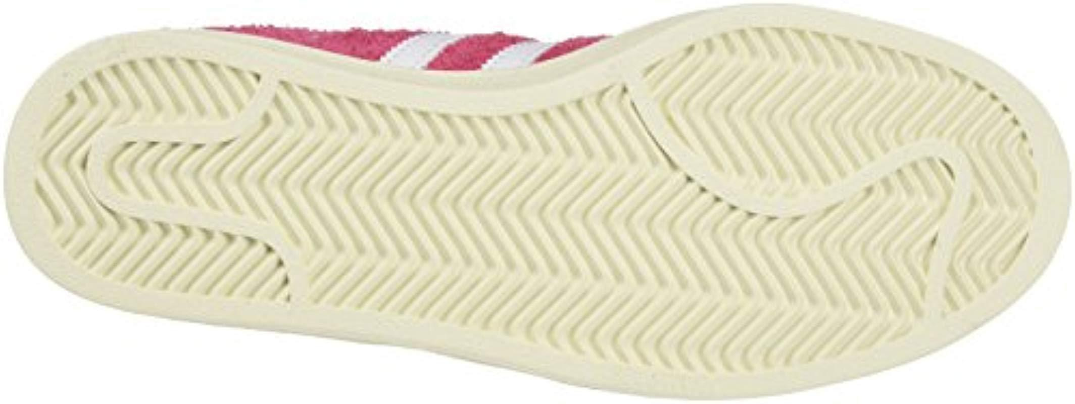 Adidas Originals Pink Campus Trainers in Pink for Men - Lyst 94b31af5875