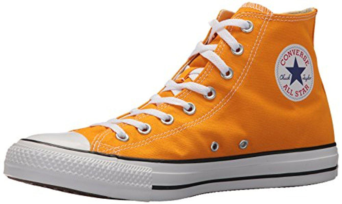 f6adc5ffb9f7fa Lyst - Converse Chuck Taylor All Star Seasonal Canvas High Top ...