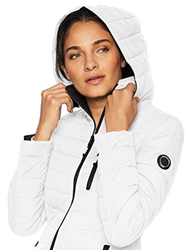 Nautica Damen Lightweight Stretch Jacket Daunenalternative Mantel