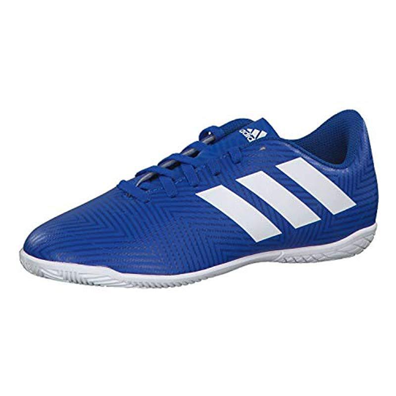 fbec04fd1 adidas Unisex Adults  Nemeziz Tango 18.4 In J Futsal Shoes in Blue ...