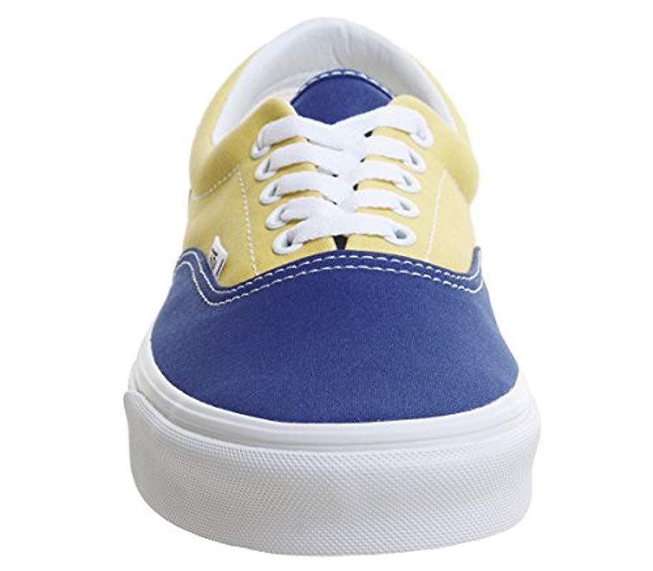52ac1e710345 Vans Unisex Adults  U Era (golden Coast) Low in Blue - Save 43% - Lyst