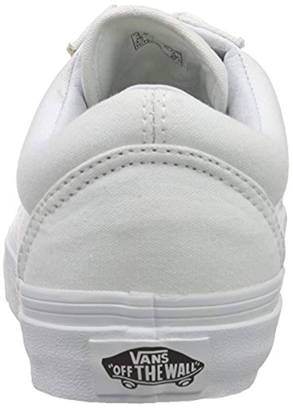 098bf8c9d7 Vans - White Old Skool