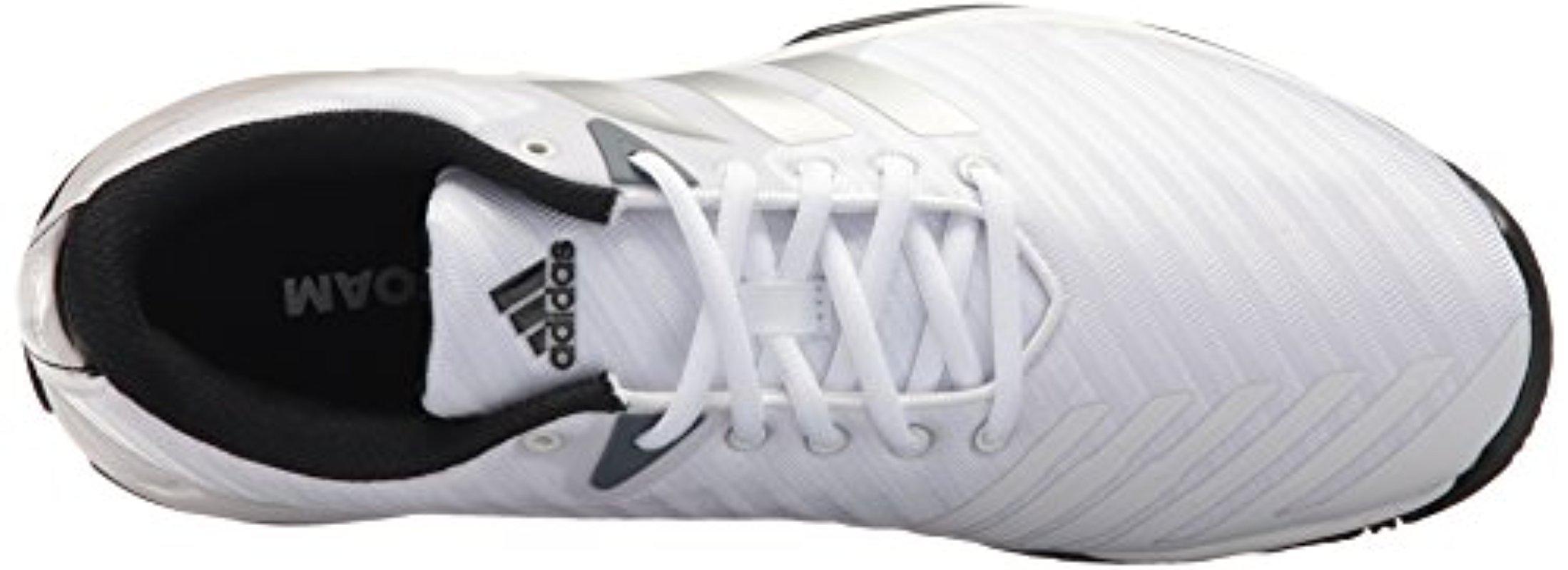 lyst adidas barricata corte 3 grande scarpa da tennis per gli uomini.