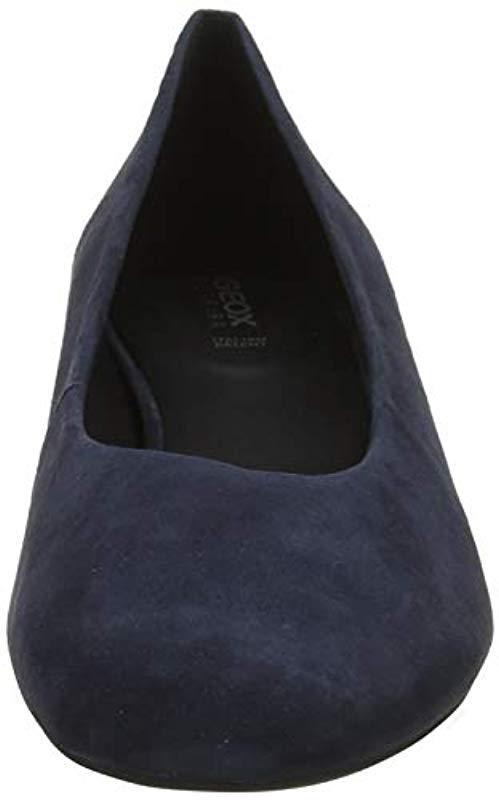 D Chloo Mid B, Zapatos de Tacón para Mujer Geox de color Azul