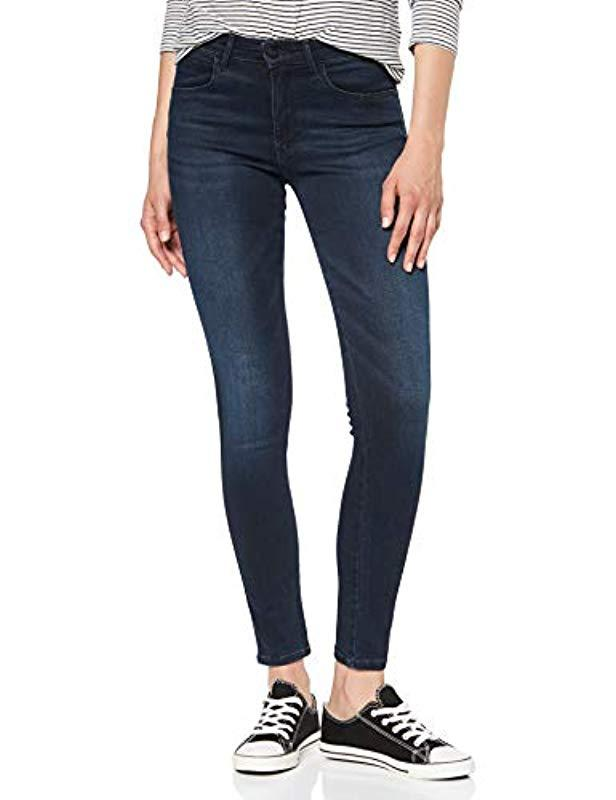 Wrangler Denim Skinny Jeans in Blau Rdhka