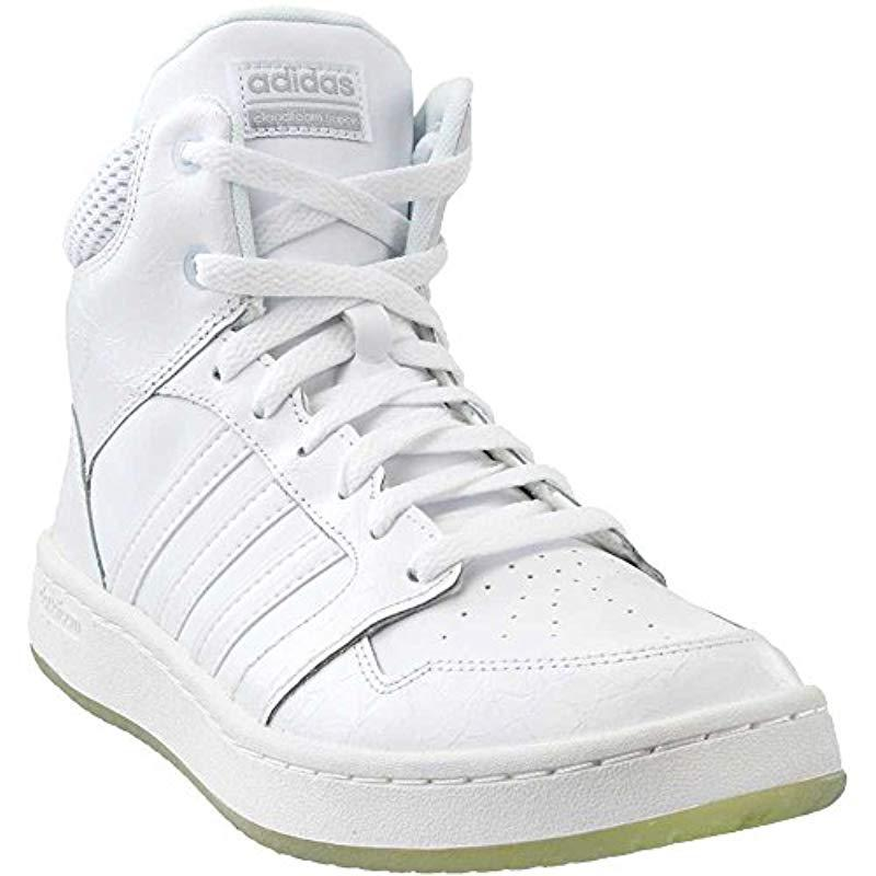 low priced 37ff7 17029 Lyst - Adidas Cf Superhoops Mid W Basketball Shoes in White