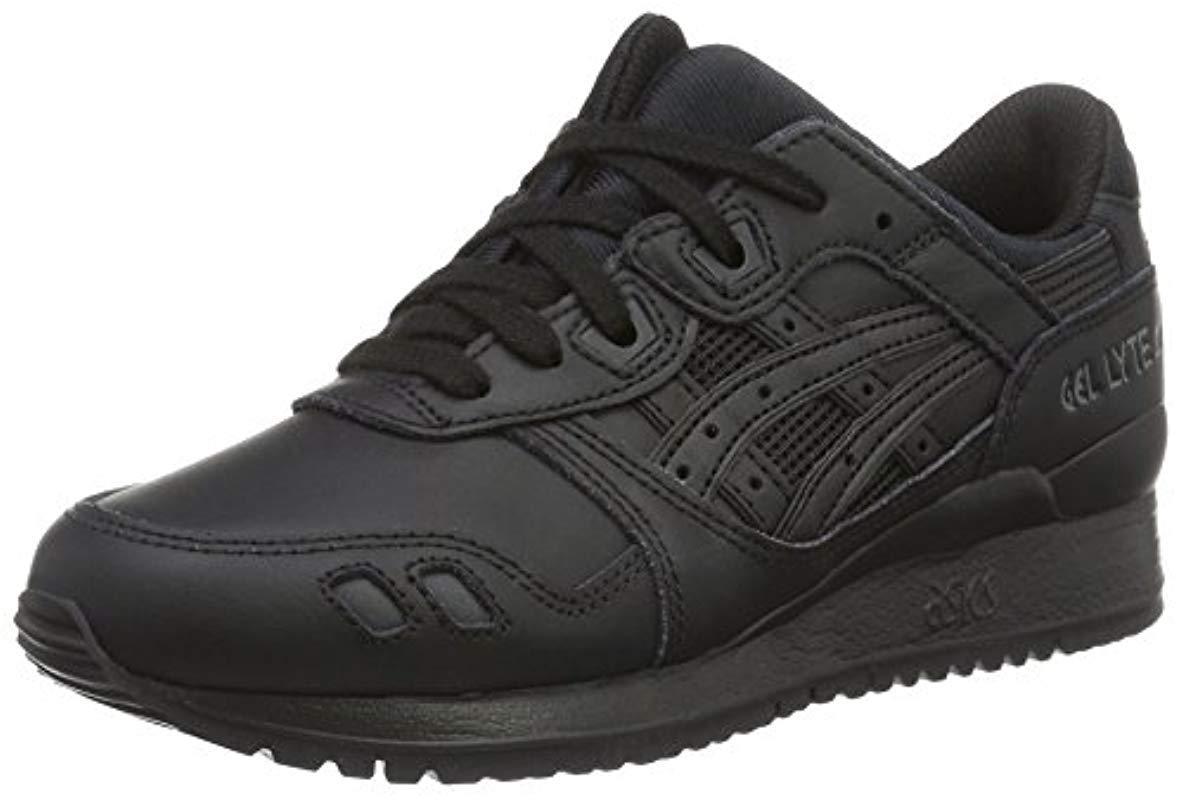 sale retailer 99b5f 571b5 Men's Black Gel-lyte Iii Adult's Trainers (hl6a2)