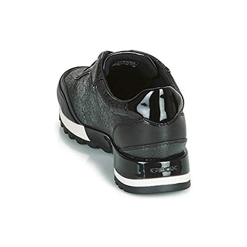 D Tabelya A, Zapatillas para Mujer Geox de Cuero de color Negro