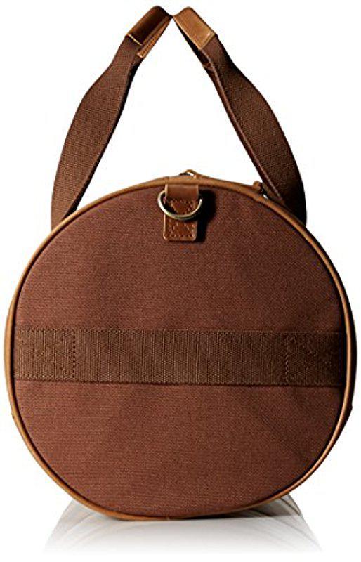 c5b357dff03 Lyst - Timberland Tuckerman Leather Duffel Bag in Brown for Men