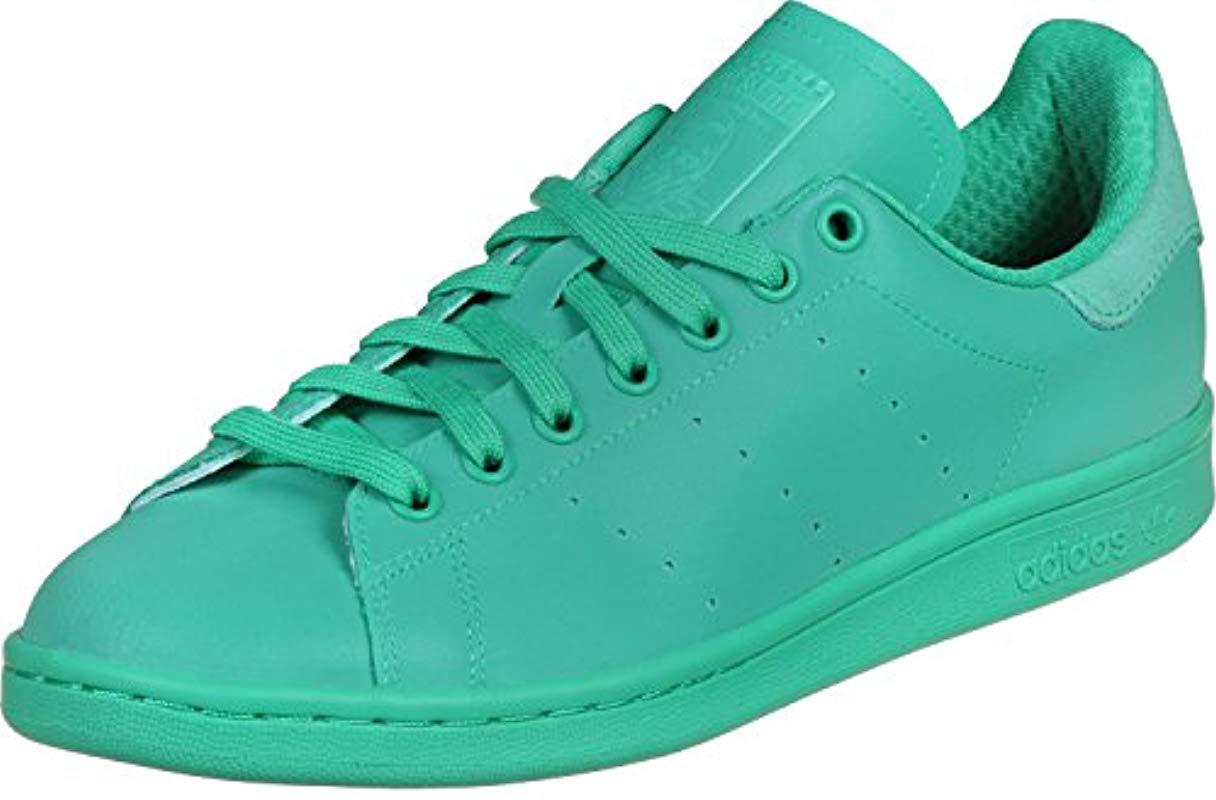 the best attitude 03105 1b8bc Adidas Originals Unisex Adults  Stan Smith Low-top Sneakers in Green ...